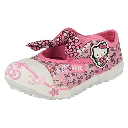 Hello Kitty - Sandali con Zeppa da ragazza' , rosa (Pink), 39 EU
