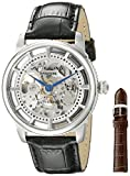 Stuhrling Original Men's 393.33152Set Classic Winchester Automatic Black Leather Strap Watch