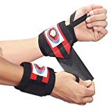 Weightlifting Wrist Wraps & FREE Weight Lifting Straps. Eagle ProFitness No.1 Selling Wrist Support Combo. Best Wrist Support & Increase Performance in Weightlifting -Gym Training -H.I.I.T & Crossfit. Strap and Brace Wrists PerfectFit For Men & Women 100% Money Back Comfort Guarantee