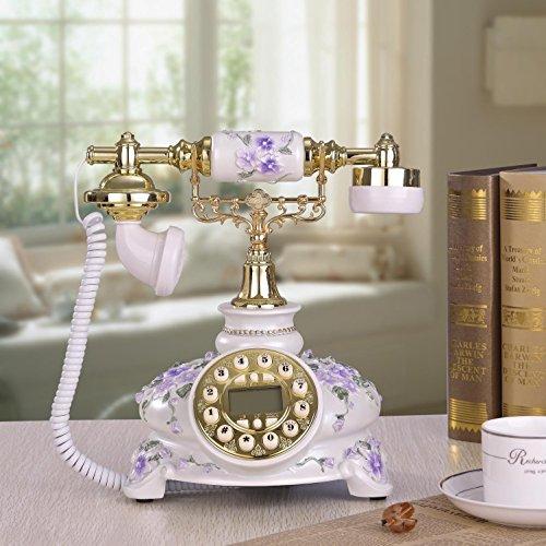 Fashion Creative Craft-Antico Antico telefono vintage casa telefono fisso