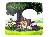 マウスパッド♪真夏の午後◆光学式対応!!写真差替窓付