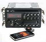 Pontiac Bonneville 2003-2005 AM FM CD Radio w Aux Input Black Buttons - 25753859