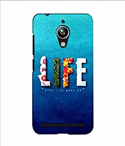 3D instyler DIGITAL PRINTED BACK COVER FOR ASUS ZENFONE GO