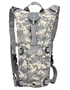 Ultimate Arms Gear Tactical ACU Army Digital Camo Camouflage Hydration Pack Backpack... by Ultimate Arms Gear