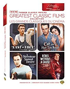 TCM Greatest Classic Films Collection: Romantic Dramas (East of Eden / Cat on a Hot Tin Roof / A Streetcar Named Desire / Rebel Without a Cause) (Bilingual)
