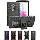 DUAL ARMOR Shell Case POUCH Back Cover For LG G3 VIGOR, LG G3 Mini, LG G3s, LG G3 Beat - (Black)