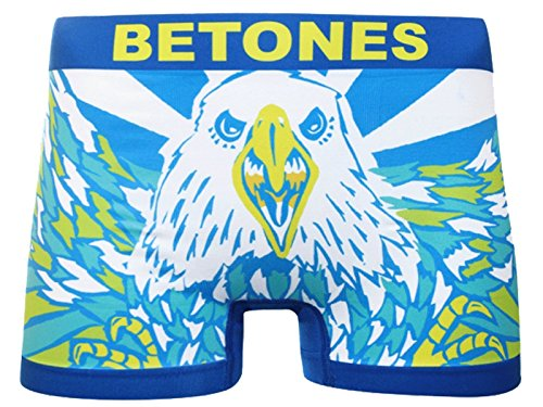 (ビトーンズ)BETONES イーグルアンドタイガー EAGLE AND TIGER/ネイビー ボクサーパンツ F