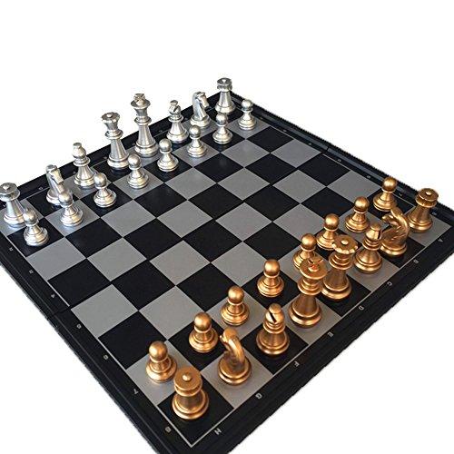 Jeu d'échecs Magnétique Plastique Plateau Pliant Loisirs Jouet Pour Enfants