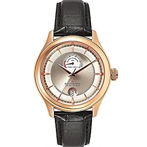 Dreyfuss & Co Men's Reserve De Marche Rose Tone Swiss Automatic Watch DGS00113/06