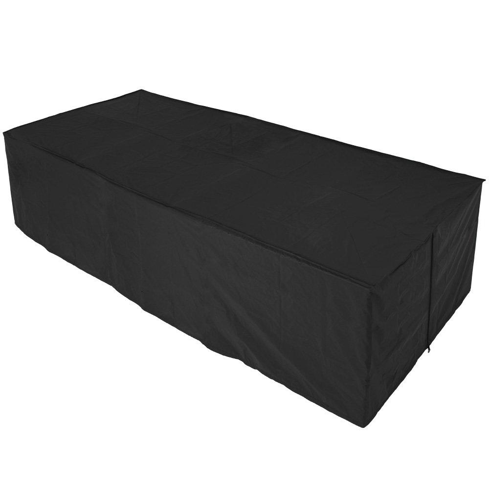 Schutzhülle für Tisch Stühle Sitzgruppen Sitzgarnituren, Wetterplane Abdeckhaube 307x136x88cm jetzt kaufen