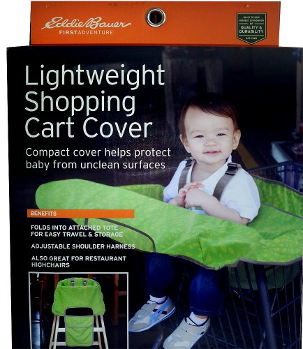 Eddie Bauer Shopping Cart Cover - Green