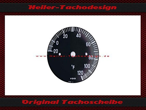Temperatur Anzeige Mercedes SL W107 R107 Fahrenheit zu Gradcelsius