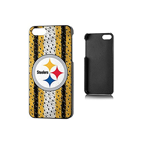 Team Pro Mark Licensed NFL Pitt. Steelers Slim Series Protector Case for Apple iPhone 5/5S - Retail Packaging - Yellow/Black from Team Pro Mark