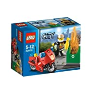 Lego City Fire Motorcycle Building Sets