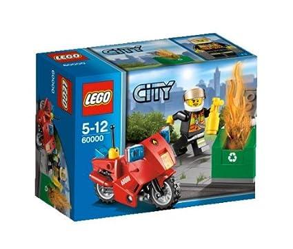 Lego City - 60000 - Jeu de Construction - La Moto des Pompiers