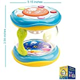 First Drum. Battery Operated Music With Features for Learning and Entertainment for Your Baby and Toddler. Portable Small Size.