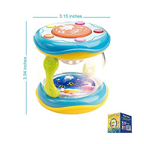 First-Drum-Battery-Operated-Music-With-Features-for-Learning-and-Entertainment-for-Your-Baby-and-Toddler-Portable-Small-Size