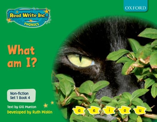 Read Write Inc. Phonics: Non-fiction Set 1 (Green): What am I?