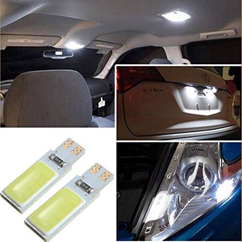 AUDEW-2-x-T10-W5W-194-168-24-LED-senza-errore-COB-Canbus-lato-lampada-Cuneo-lampadina-bianco