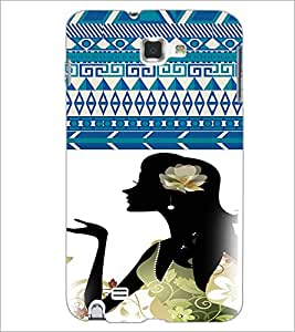 PrintDhaba Cartoon D-3605 Back Case Cover for SAMSUNG GALAXY NOTE 1 (Multi-Coloured)