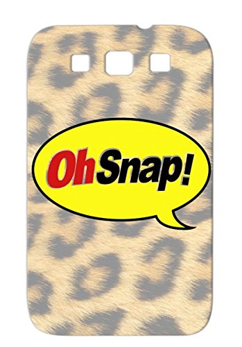 Shock-Absorbent Satire Henry Parody Funny Bar Oh Chocolate Effect Candy Chocolate Henry Sound Bar Snap Parody Case For Sumsang Galaxy S3 Yellow Oh Snap