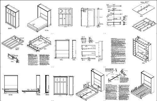 Image Result For Murphy Bed Kit Queen Horizontal