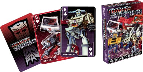 Transformers Cast Playing Cards - 1