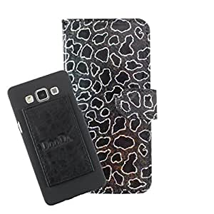 DooDa PU Leather Wallet Flip Case Cover With Card & ID Slots For Micromax Bolt A082 - Back Cover Not Included Peel And Paste