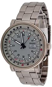 Orient #CEM058003K Men's Military Titanium Automatic Watch
