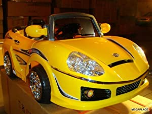 KT Battery Operated Ride on Car With Remote Control(KT698R silver, yellow)