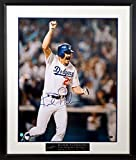 """LA Dodgers Kirk Gibson Autographed """"World Series HR"""" 16x20 Photograph with Floating Plate (COA)"""