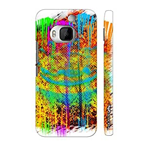 Htc One M9 Plus Abstract Art 5 designer mobile hard shell case by Enthopia