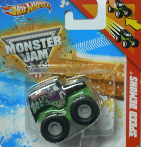 Hot Wheels Monster Jam SPEED DEMONS Grave Digger - 4 Time Champion