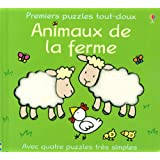 Premiers puzzles tout-doux : Animaux de la fermepar Fiona Watt