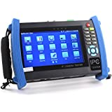 Woshida 7 inch Touch Screen 1080P HDMI IP Camera CCTV Tester/POE Test/WIFI 8600