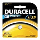 Duracell DL1/3NBPK Photo Lithium Batteries, Size 3.0 Volt