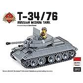 ソ連軍 T-34/76戦車 レゴカスタムキット 説明書付き・カスタムフィグ1体付属 LEGOカスタムパーツ アーミー 装備品 武器