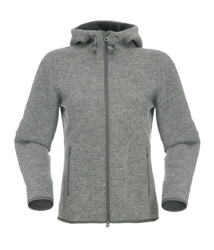 NORTH FACE W ZERMATT Full Zip HOODIE JACKE Fleece 2013, Farbe: Heather Grey (054), Größe: XS