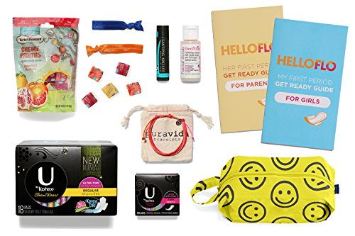 Helloflo Period Starter Kit (Puberty Starter Kit compare prices)