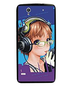 Techno Gadgets Back Cover for Sony Xperia C4