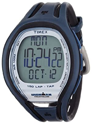 Timex Ironman Full Size 150-Lap Tap Screen Watch