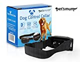 TODAY'S SPECIAL No Bark Collar By Pet's Mum Offer Harmless Dog Training Collar with 7 Levels Sensitivity Shock Collar for Small or Large Dogs, 2 Free Gifts - 15 to 120 lbs dogs - Money Back Guarantee