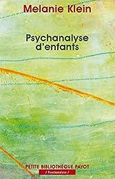 Psychanalyse d'enfants
