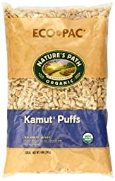 Nature\'s Path Organic Kamut Puffs Cereal, 6-Ounce Bags (Pack of 12)