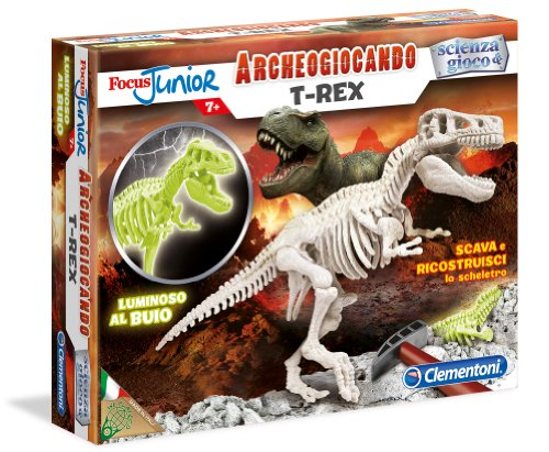 Clementoni 13188 - Focus T-Rex Glow in The Dark