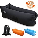 Vansky Inflatable Lounger-Relaxing anywhere as you needWhether you're doing more camping outdoor, lounging around the beach, or simply hanging out at music festivals, you'll need something to sit and lie on during those times.No matter where ...