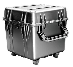 Pelican 0350 Cube Case with Foam for Camera (Black)