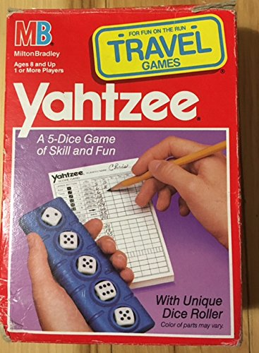 Vintage YAHTZEE TRAVEL GAME (1989) - 1