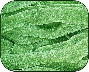 Sour Power Green Apple Belts Candy 1 Pound Bag