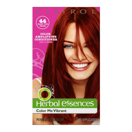 Clairol Herbal Essence Color 044 Paint The Town Deep Red